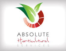 Absolute Horticultural Services branding