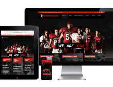 Western Crusaders and Foxes Gridiron Club Website